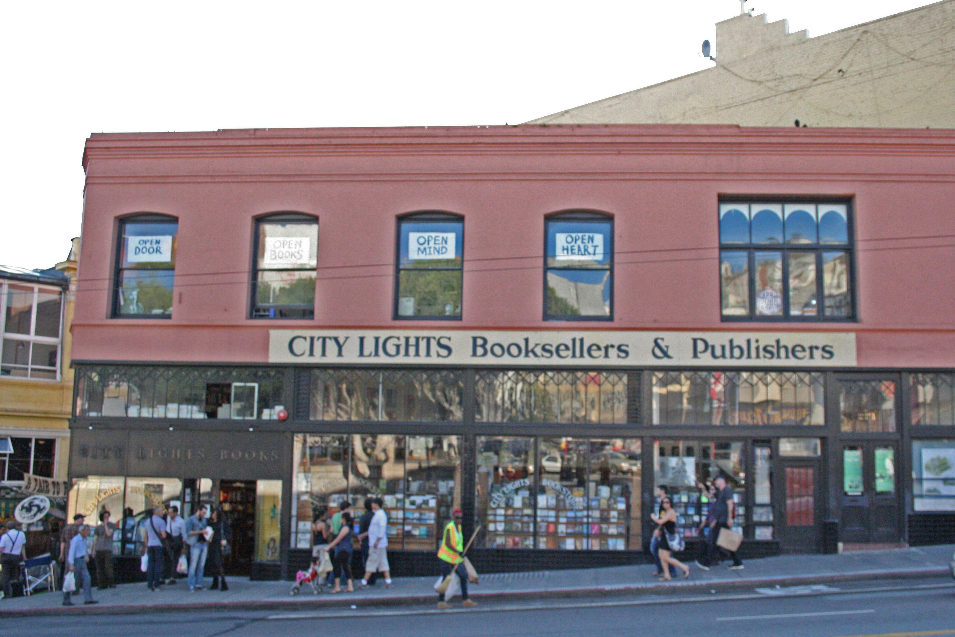 City Lights Bookstore San Francisco CA